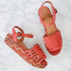 ANTHROPOLOGIE|Schuler & Sons Flatform Sandal SZ7.5